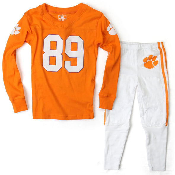 Wes & Willy Clemson Tigers Football Pajama