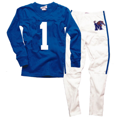 Wes & Willy Memphis Tigers Football Pajama