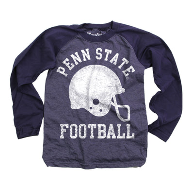 Wes & Willy Penn State Nittany Lions Football Raglan