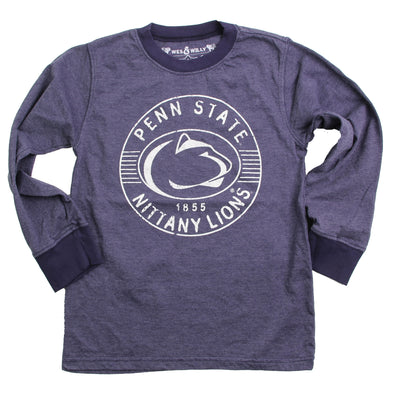 Wes & Willy Penn State Nittany Lions Boy's LS Ringer