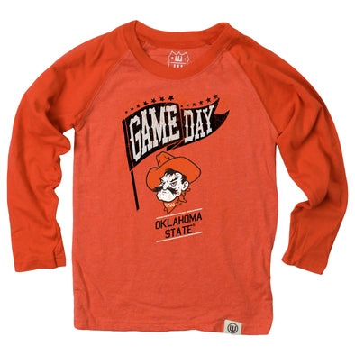 Wes & Willy Oklahoma State Cowboys Boy's Game Day Raglan