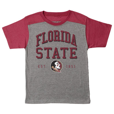 Wes & Willy Florida State Seminoles Boy's Triblend Tee