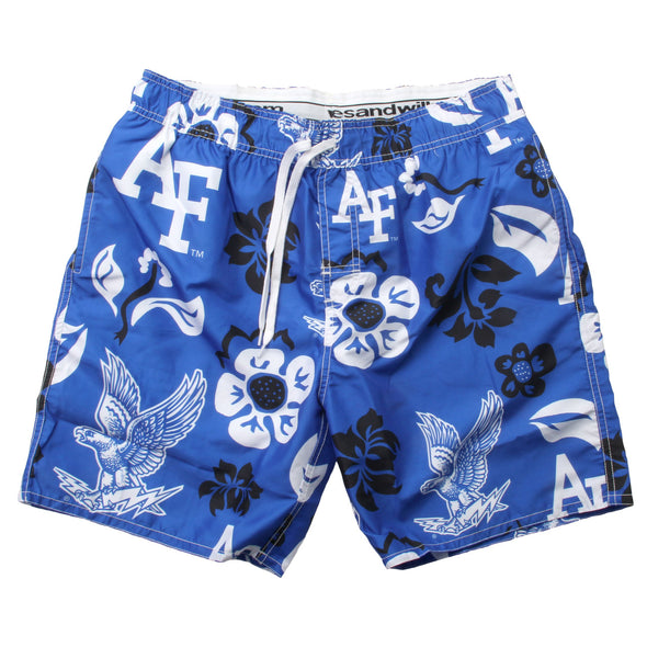 Wes & Willy Air Force Falcons Men's Swim Trunks