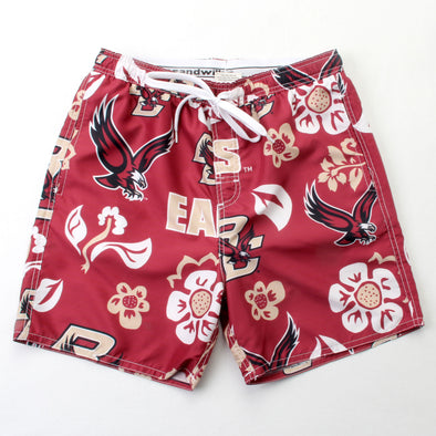 Wes & Willy Boston College Eagles Men's Swim Trunks