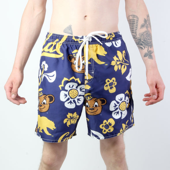 Wes & Willy California Golden Bears Men's Swim Trunks
