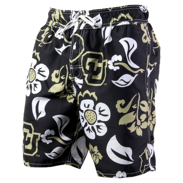 Wes & Willy Colorado Buffalos Men's Swim Trunks