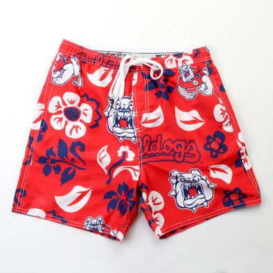 Wes & Willy Fresno State Bulldogs Men's Swim Trunks