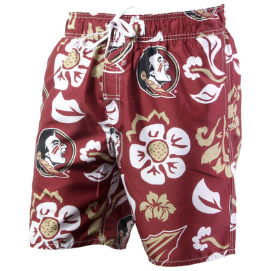 Wes & Willy Florida State Seminoles Men's Swim Trunks