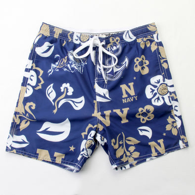 Wes & Willy Naval Academy Midshipmen Men's Swim Trunk