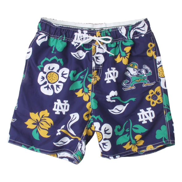 Wes & Willy Men's Notre Dame Fighting Irish Swim Trunks