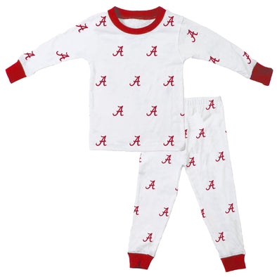 Wes & Willy Alabama Crimson Tide Allover Pajama