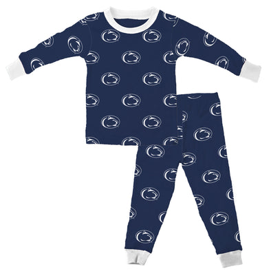 Wes & Willy Penn State Nittany Lions Allover Pajamas