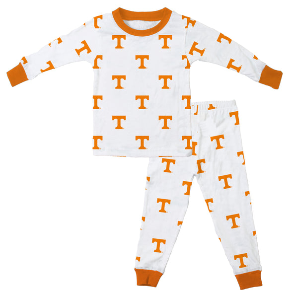 Wes & Willy Tennessee Volunteers Allover Printed Pajamas