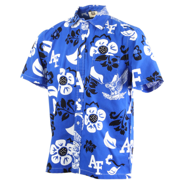 Wes & Willy Air Force Falcons Men's Floral Shirt