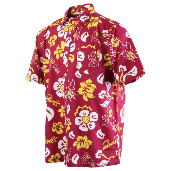Wes & Willy Arizona State Sun Devils Men's Floral Top
