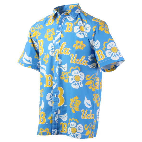 Wes & Willy UCLA Bruins Men's Floral Shirt