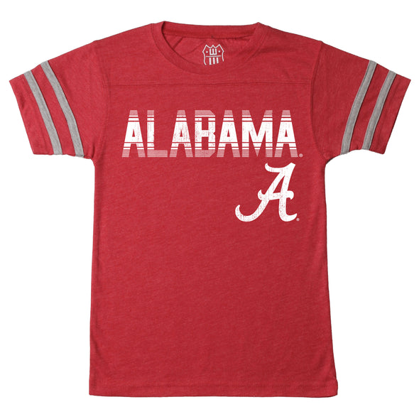 Wes & Willy Alabama Crimson Tide Boy's  Triblend Tee