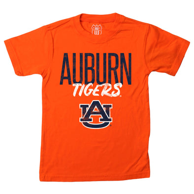 Wes & Willy Auburn Tigers Boy's Logo Tee