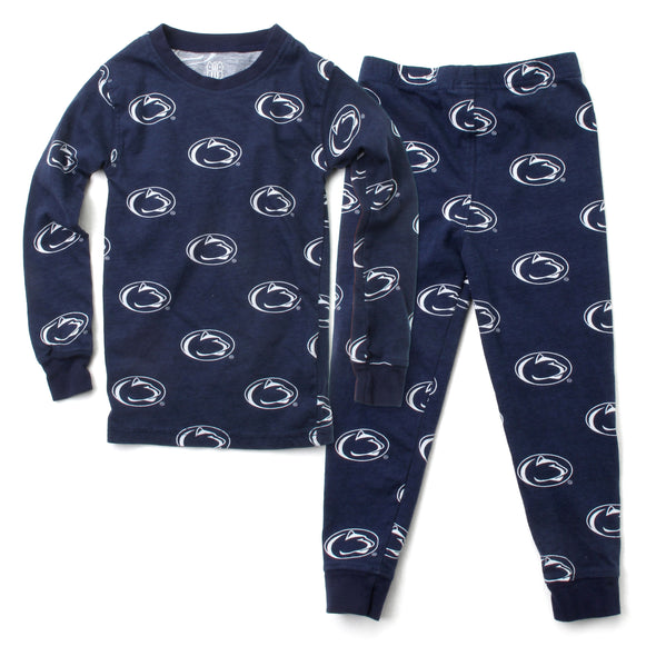 Wes and Willy Penn State Nittany Lions Allover Print Pajama