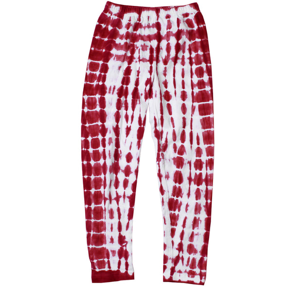 Wes and Willy Girl's Tie Dye Legging -Cherry