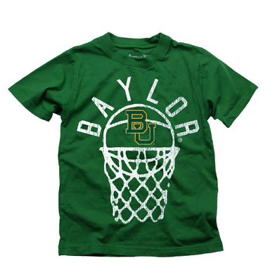 Wes & Willy Baylor Bears Boy's Basketball Tee