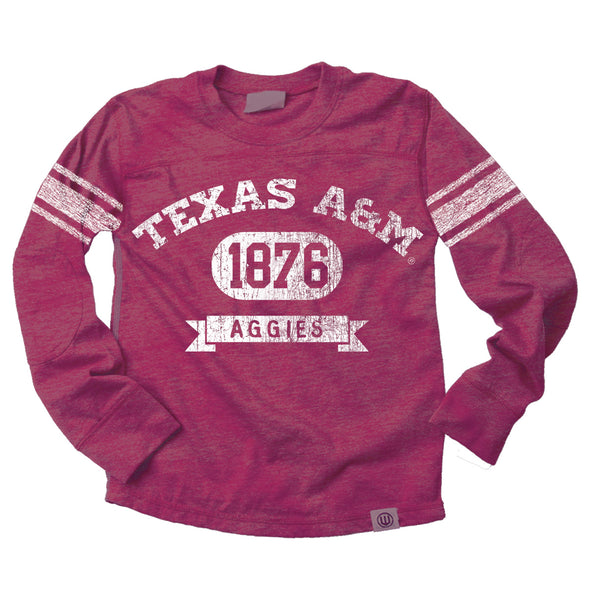 Wes & Willy Texas A&M Aggies Boy's Blended Jersey