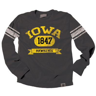 Wes & Willy Iowa Hawkeyes Boy's Blended Jersey