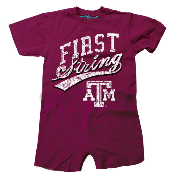 Wes & Willy Texas A&M Aggies Infant's Romper