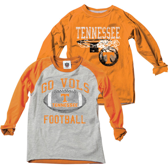 Wes & Willy Tennessee Volunteers Boy's Inside Out Tee