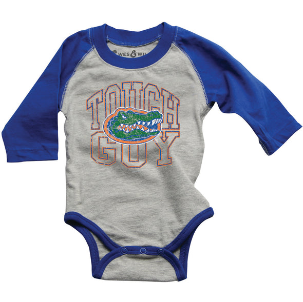 Wes & Willy Florida Gators Infant's Tough Guy Bodysuit
