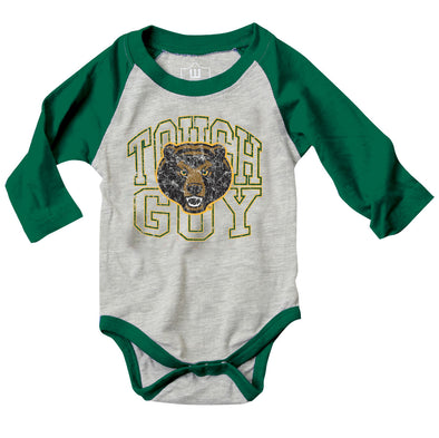 Wes & Willy Baylor Bears Infant's Tough Guy Bodysuit