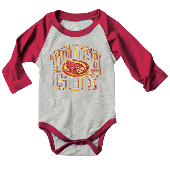 Wes & Willy Iowa State Cyclones Infant's Tough Guy Bodysuit