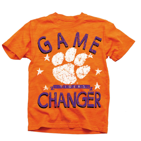 Wes & Willy Clemson Tigers Boy's Game Changer Tee