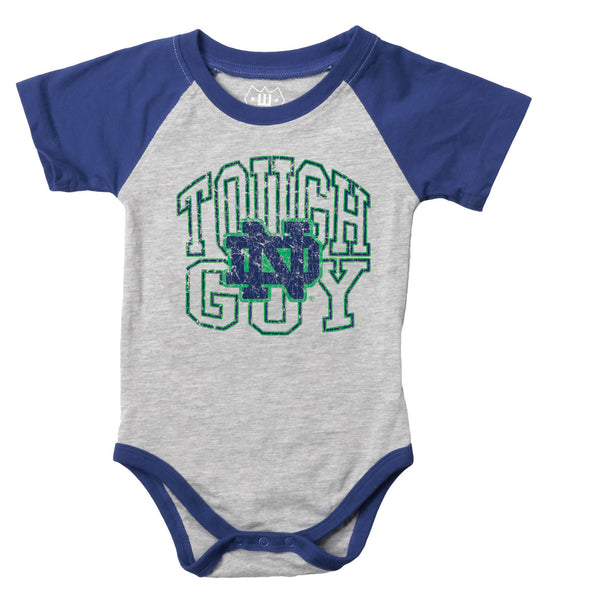 Wes & Willy Notre Dame Fighting Irish Infant Tough Guy Bodysuit