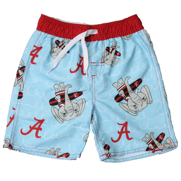 Wes & Willy Caricature Trunk/Alabama Crimson Tide