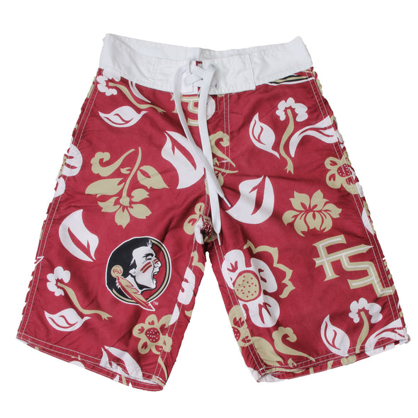 Wes & Willy Florida State Seminoles Boy's Board Shorts