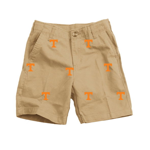 Wes & Willy Tennessee Volunteers Embroidered Twill Short