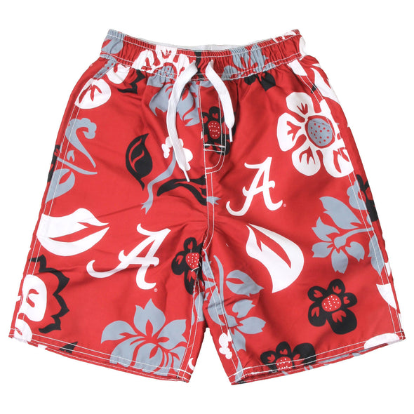 Wes & Willy Alabama Crimson Tide Floral Volley Trunk