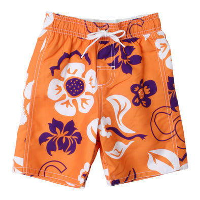 Wes & Willy Clemson Tigers Boy's Swim Trunk