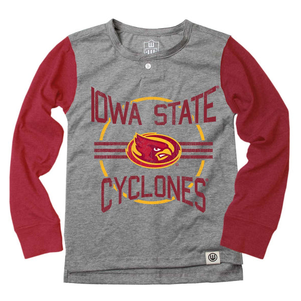Wes & Willy Iowa State Cyclones Boy's LS Henley