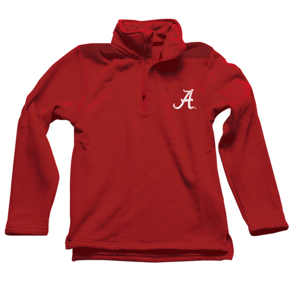 Wes & Willy Alabama Crimson Tide Boy's 1/4 Zip