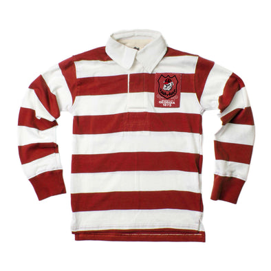 Wes & Willy Georgia Bulldogs Boy's Rugby Shirt