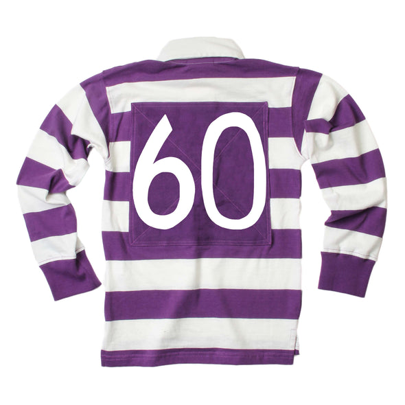 Wes & Willy LSU Tigers Boy's Rugby Top