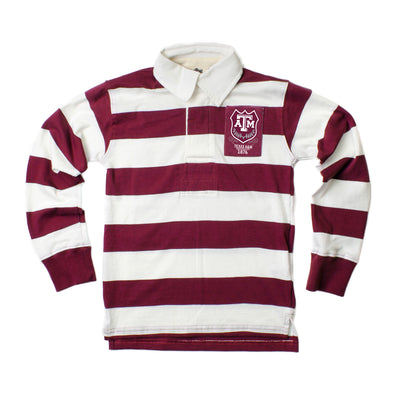 Wes & Willy Texas A&M Aggies Boy's Rugby Polo