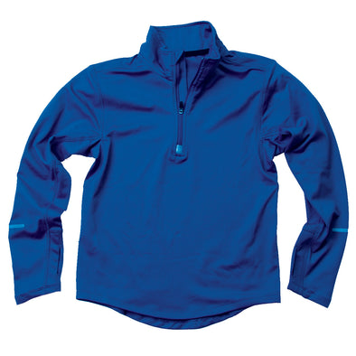Wes & Willy Blue Performance Pullover