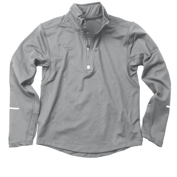 Wes & Willy Boy's Gray Performance Pullover