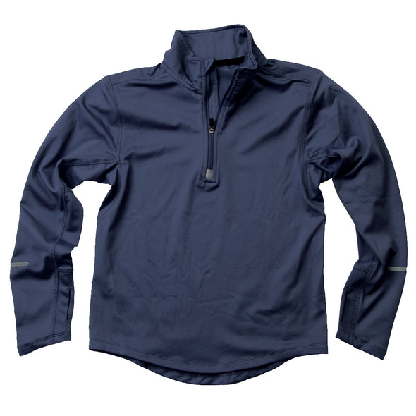 Wes & Willy Boy's Navy Performance Pullover
