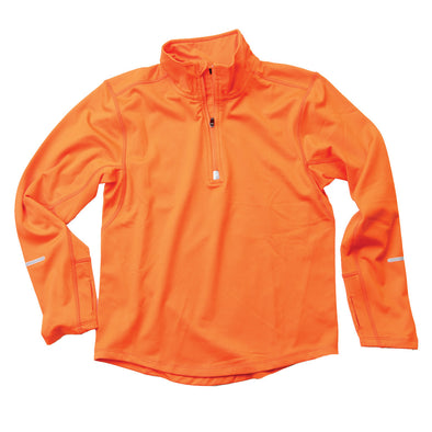 Wes & Willy Boy's Orange Performance Pullover