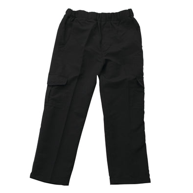 Wes & Willy Black Pull On Cargo Pant