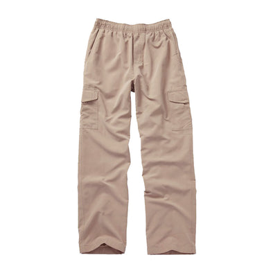 Wes & Willy Boy's Khaki Pull On Cargo Pant